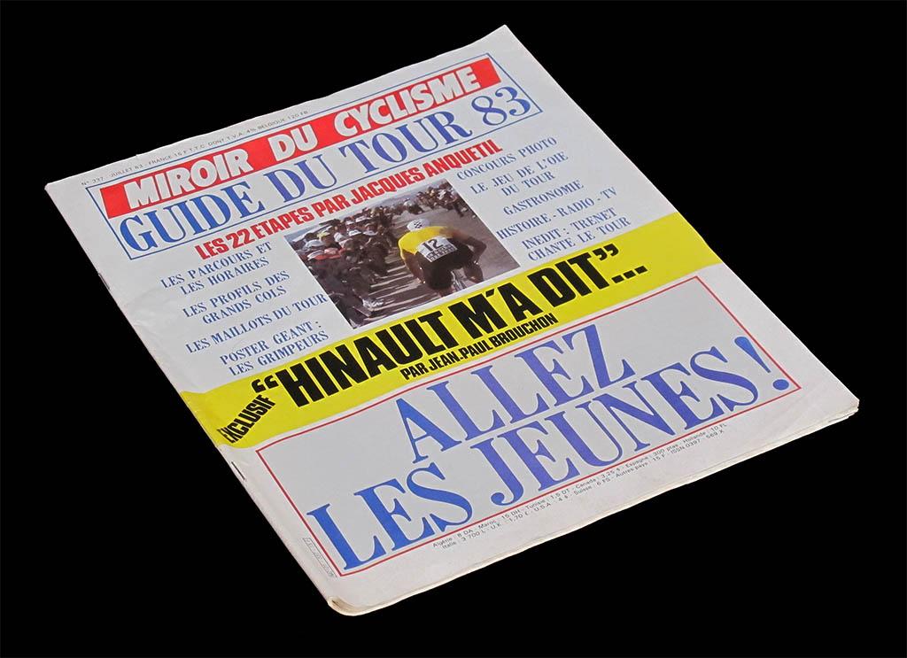 Miroir du cyclisme 1983 for Le miroir du cyclisme