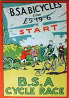 BSA CYCLE RACE